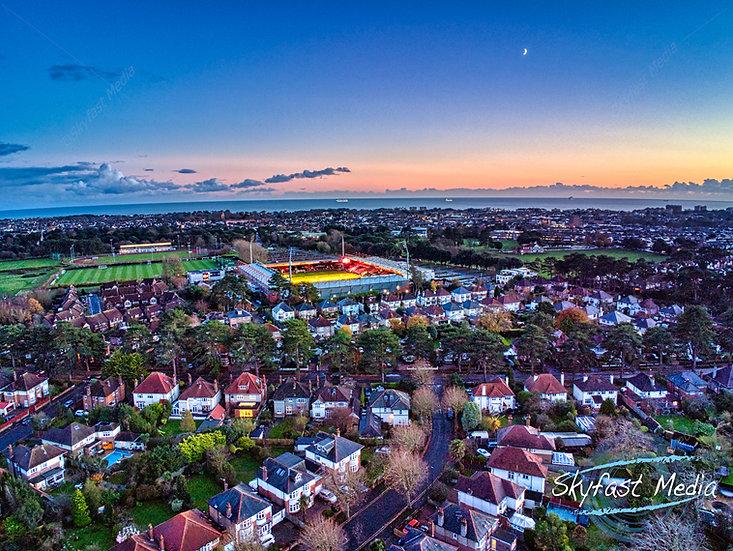 Sunset over the Vitality Stadium Digital Download