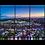 Thumbnail: Sunset over the Vitality Stadium Multi-Panel Wall Art