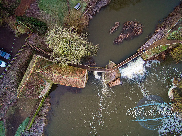Sturminster Newton Mill Top Down Canvas