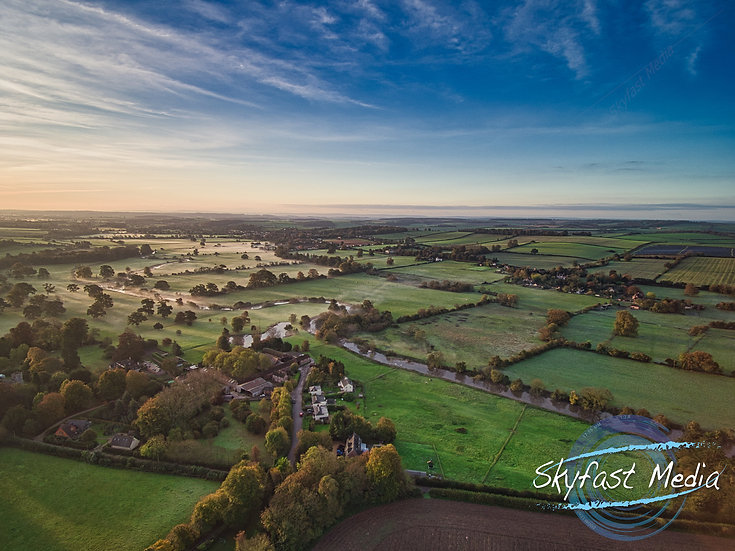 Langton Long Sunrise Canvas