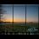 Thumbnail: Winter Sunset over Milldown Multi-Panel Wall Art