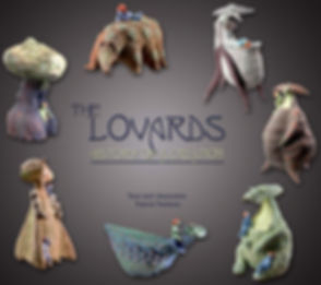 The Lovards, story inspired by the sculptures of the artist France Fauteux.
