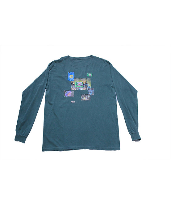 CITY LOTUS LONG SLEEVE DARK GREEN