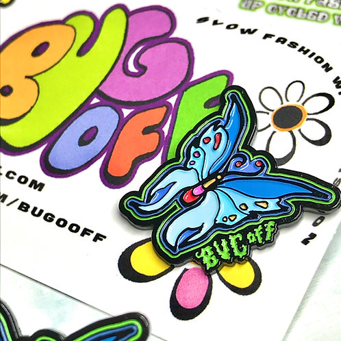 Let Loose Butterfly Pin