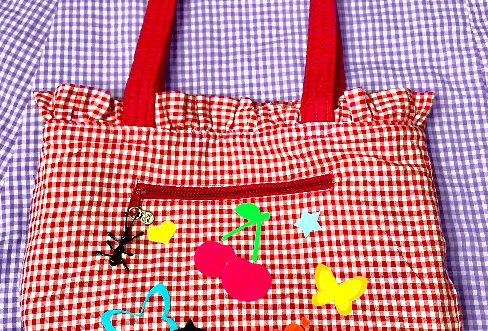 PIC-NIC TOTE W/ ANT CHARM