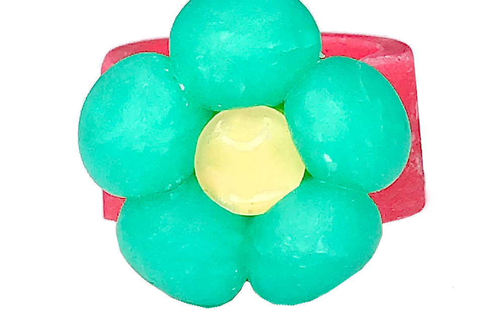 BUBBLE RINGS -TEAL