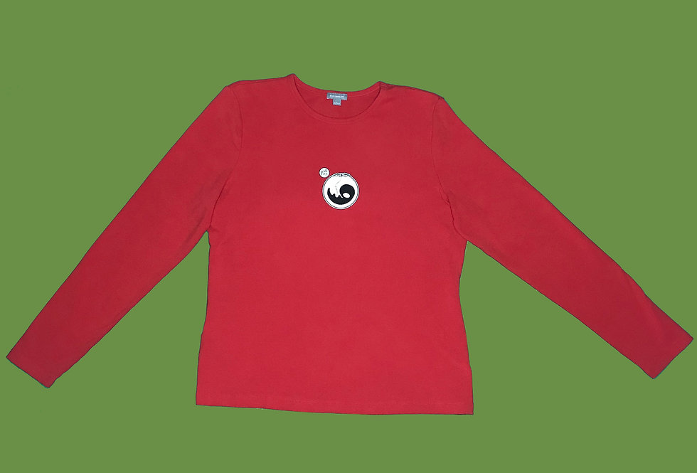 RED PULSE LONG SLEEVE