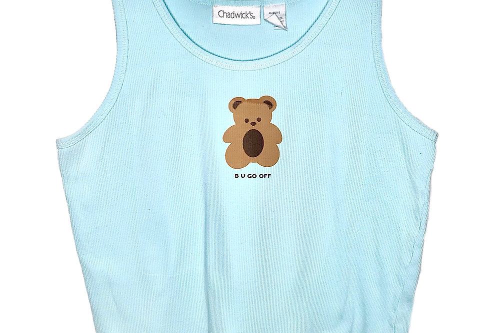BASIC BEAR LIGHT BLUE TANK