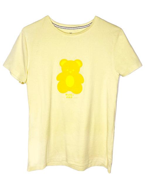 BASIC BEAR PASTEL YELLOW