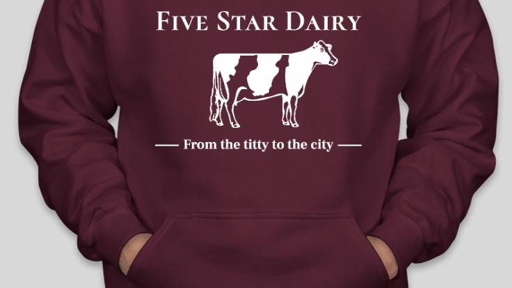 Five Star Dairy Hoodie