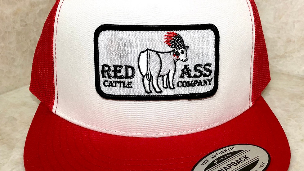 Red Ass Rectangle Patch