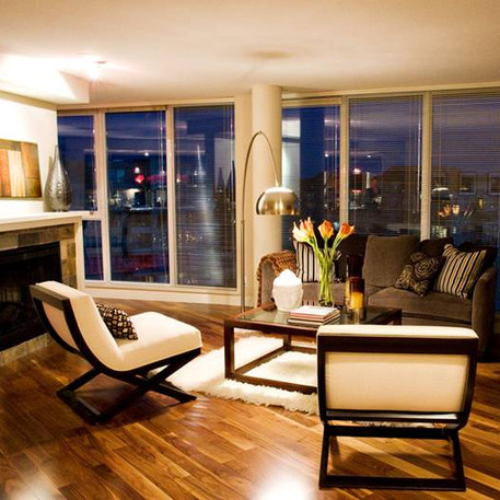 Paloma Penthouse Staging Project, Richmond BC