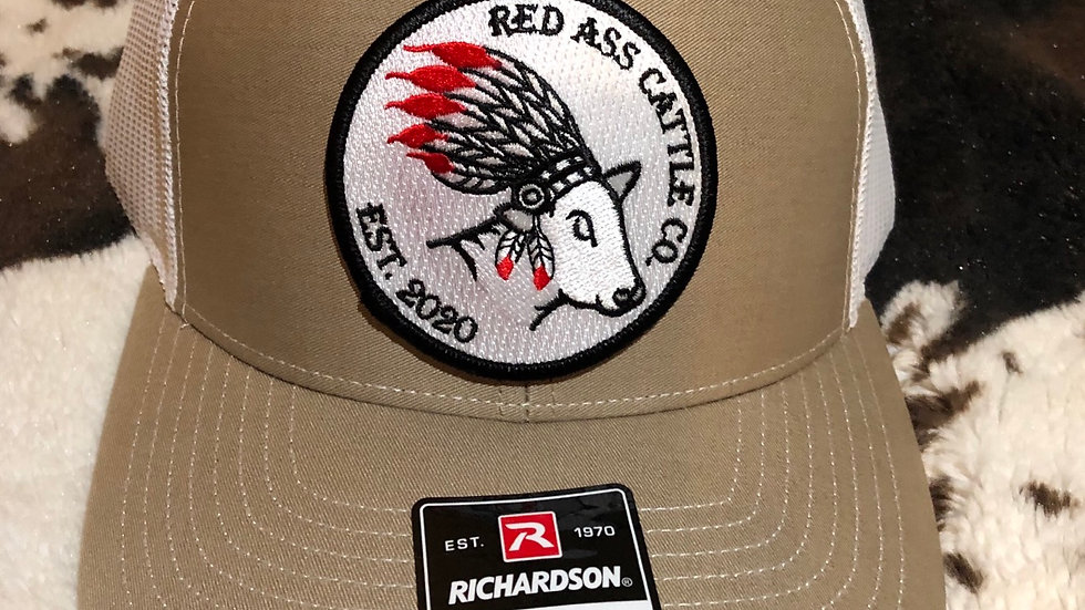Red Ass Circle Patch
