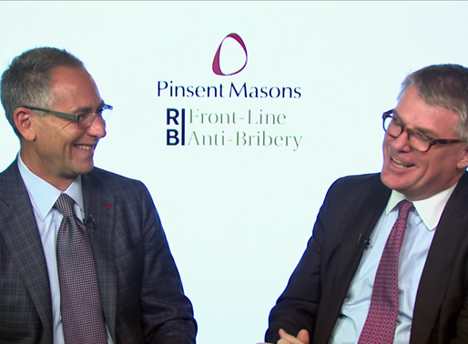 VIDEO: The Bribery Act, The SFO & DPA's: Talk of Change?
