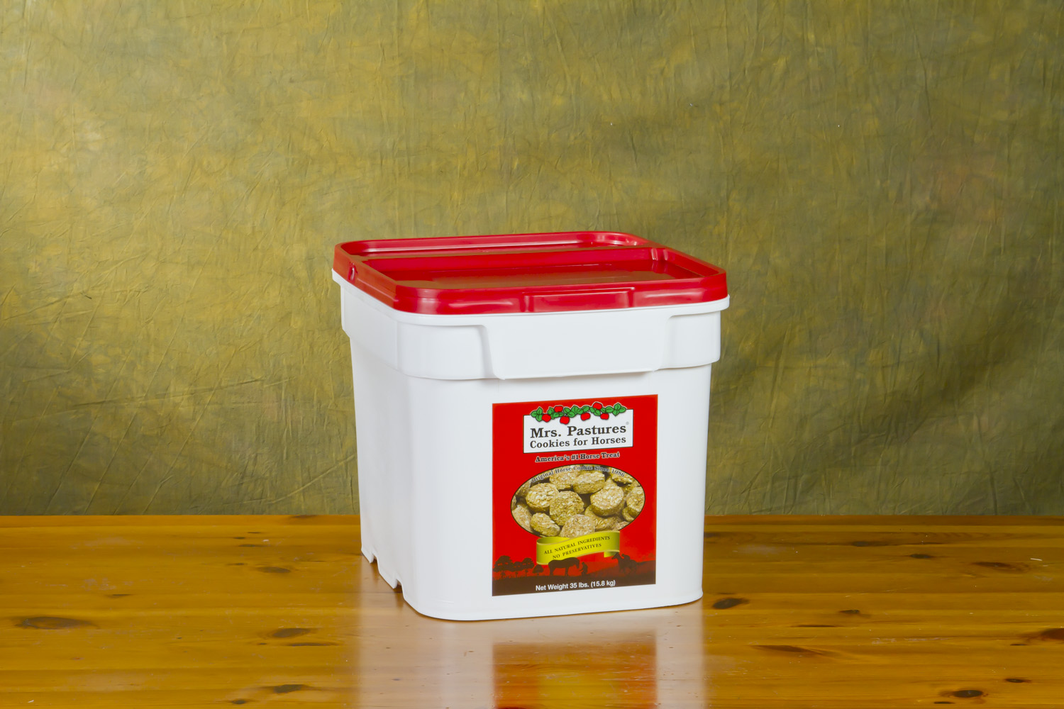 35 lb. Reusable Plastic Tub
