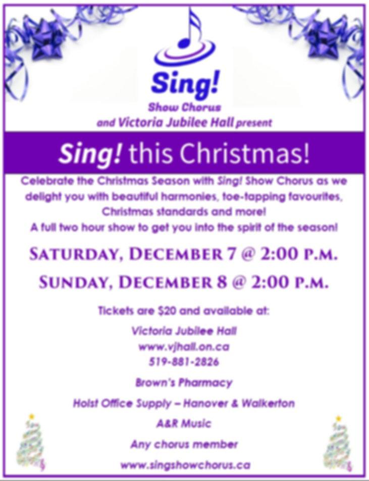 VJH Poster Christmas 2019 - 2nd version.