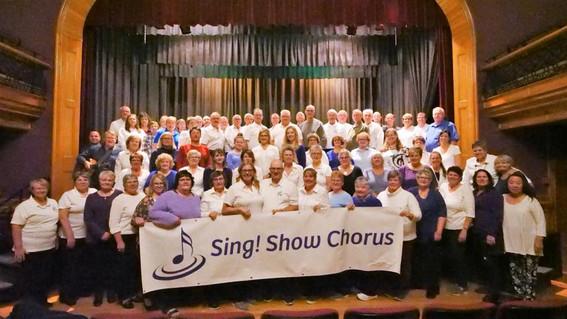 Our first choir family photo! November 2019