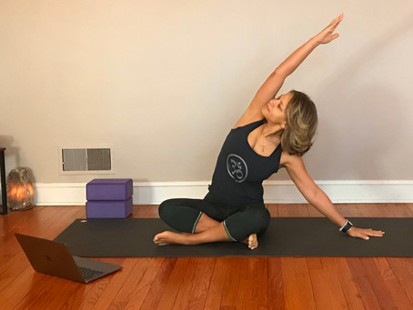 6 Tips to Help you Ease into Online Yoga Classes