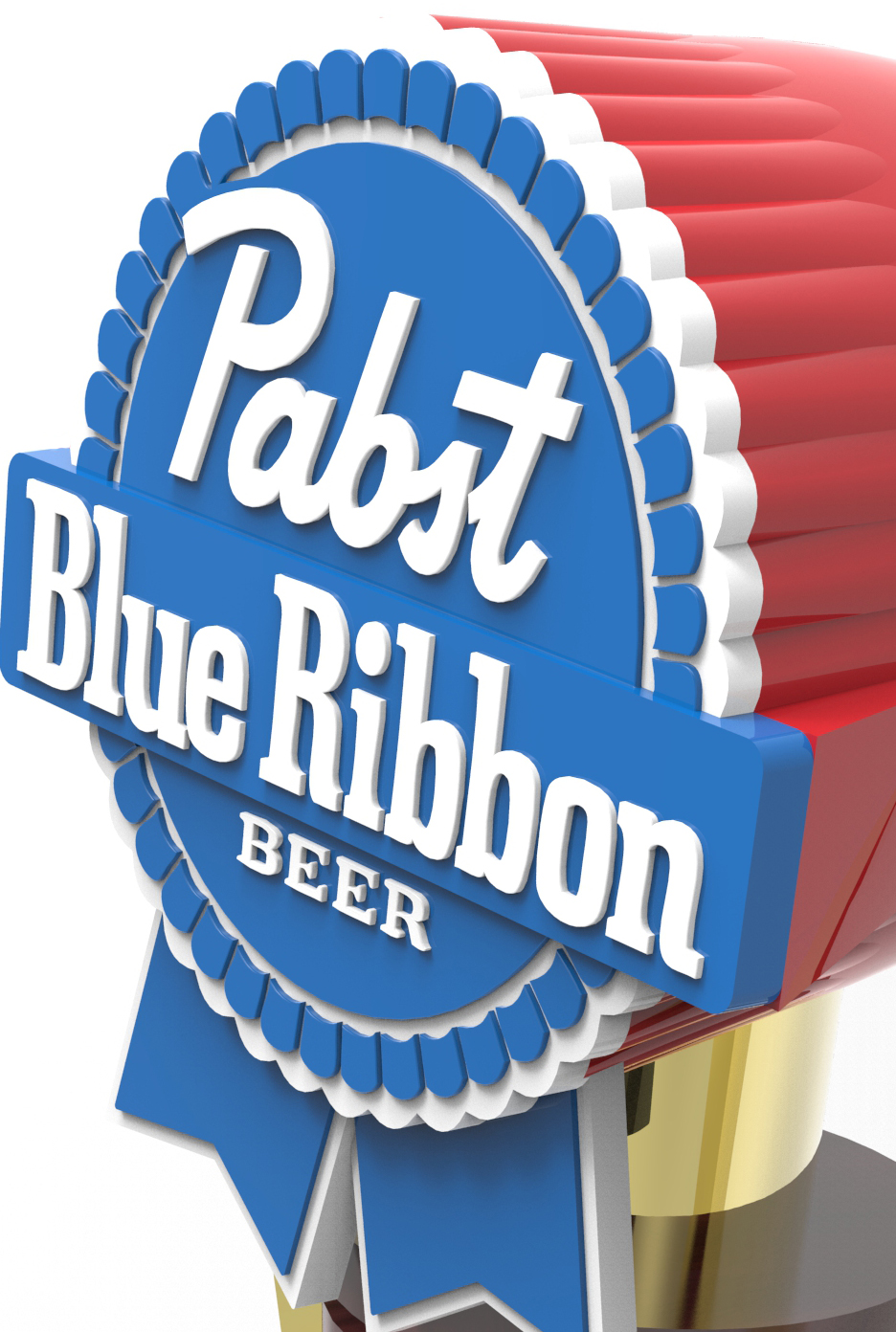 Pabst Blue Ribbon Trophy Tap