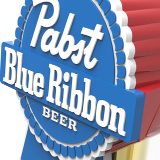 Pabst Blue Ribbon Beer Tap