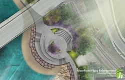 Riverfront Plaza Enlargement