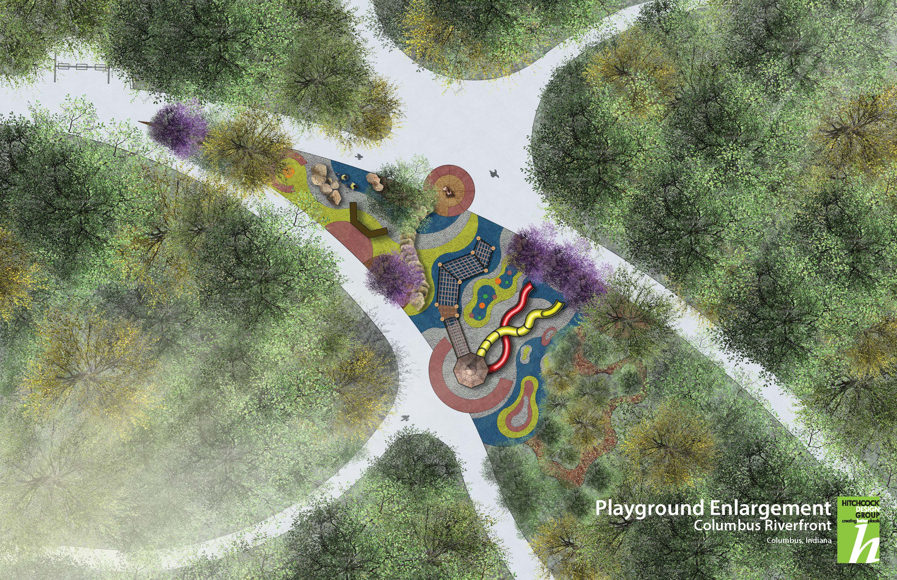 Playground Enlargement