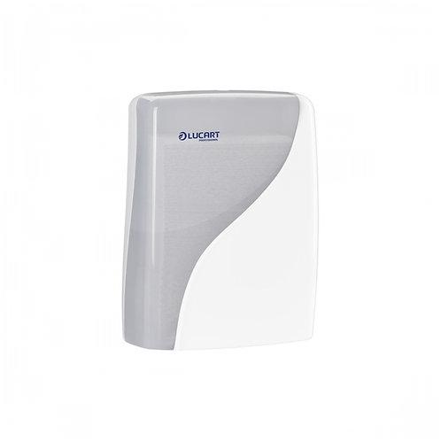 """Dispenser per asciugamani piegati a """"C"""", """"V"""" e """"Z"""""""