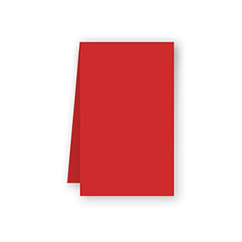 Tovaglia rosso in airlaid 100x100