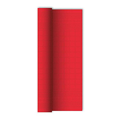 Tovaglia in rotolo Rosso 1,20x7 mtdamascata