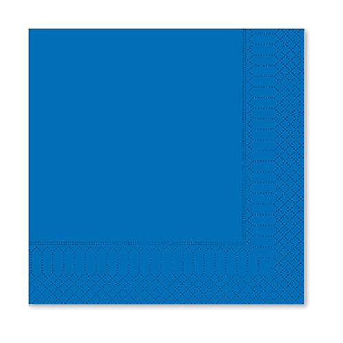 Tovagliolo Blu Genziana 25X25 - 2 Veli
