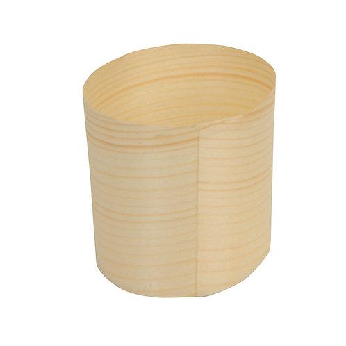 12Cilindri in legno Ø 8,5 cm, h 6,5 cm