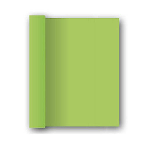 Tovaglia in rotolo Verde Mela 1,20x7 mtdamascata