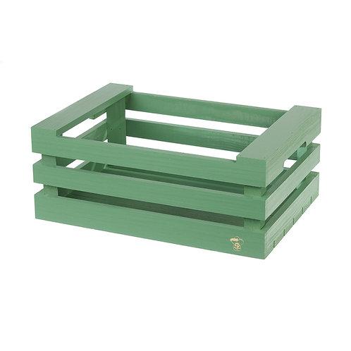 1Minicassette in legno a 3 stecche17x12x9 cm