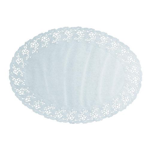 250 Pizzi ovali in carta 38x28 cm