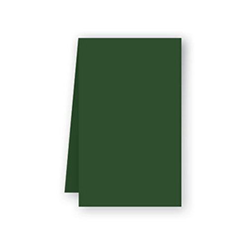 Tovaglia verde foresta in airlaid100x100