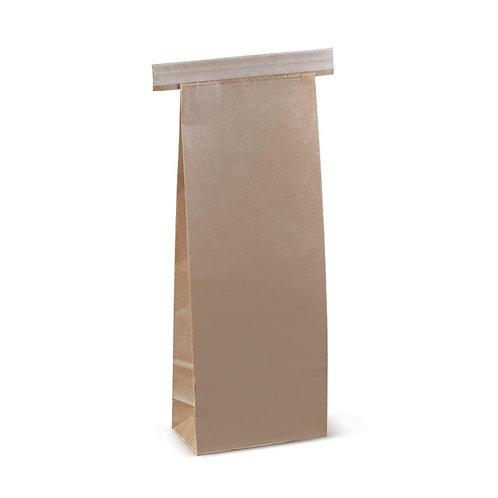 500  Sacchetti laminati in PLA richiudibili con striscia metallica275x100x60 mm