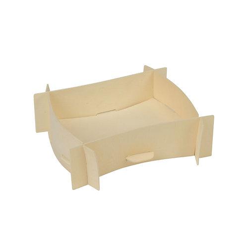 "12 Fingerfood in legno di pino ""ZATTERA""11x10x4 cm"