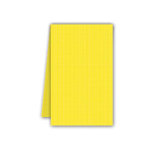 Tovaglia giallo in Airlaid 100x100