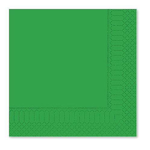 Tovagliolo Verde Smeraldo 33X33 - 2 Veli