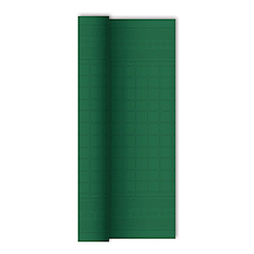 Tovaglia in rotolo Verde Foresta 1,20x7 mtdamascata