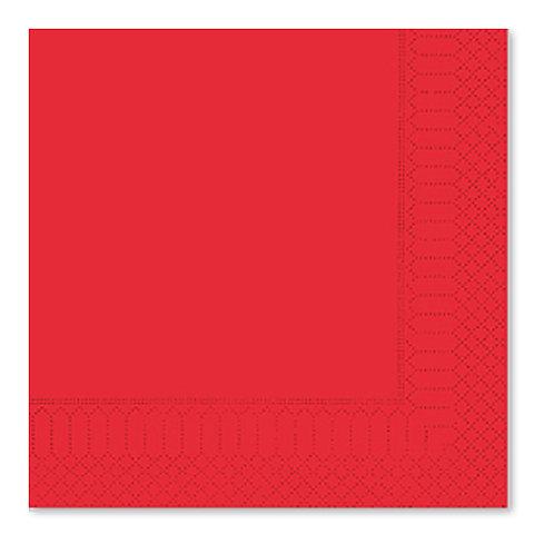 Tovagliolo Rosso 33X33 - 2 Veli
