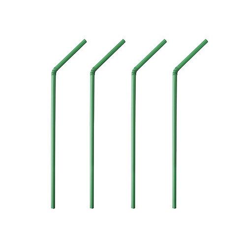 Cannucce flessibili in PLA imbustate singolarmente 400 pz.