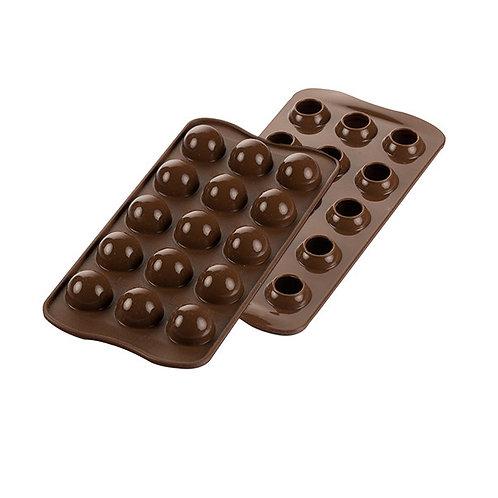 """Stampo in silicone per cioccolatini """"tartuf"""""""