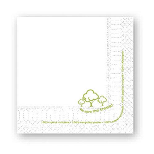 Tovagliolo Carta riciclata 38x38 cm - 2 Veli