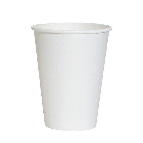 50 Bicchieri in cartoncino laminato in PLA8 oz / 237 ml