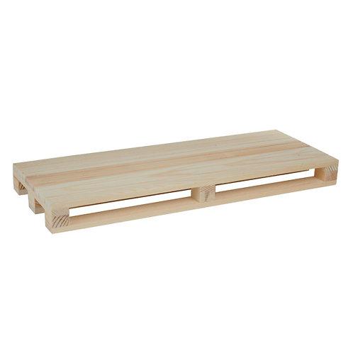 1Mini pallet in legno35x19,6x3.5 cm