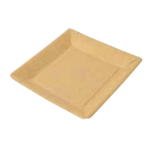 50 Piatti quadrati in cartoncino antigrasso23x23 cm