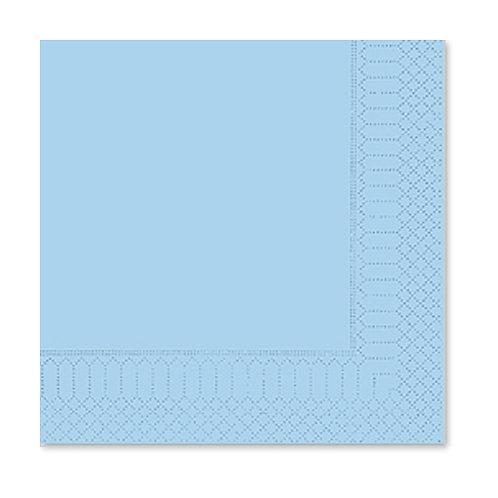 Tovagliolo Azzurro 25X25 - 2 Veli