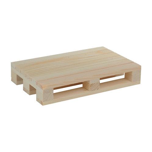 1Mini pallet in legno20x13x3.5 cm