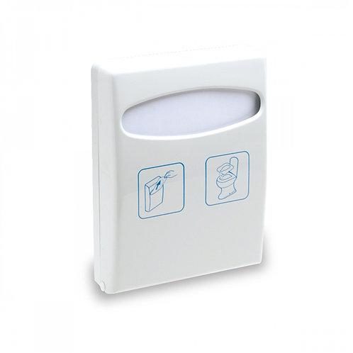 Dispenser per coprisedili igienici